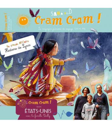 Voyage en famille aux États-Unis | Magazine jeunesse Cram Cram en PDF
